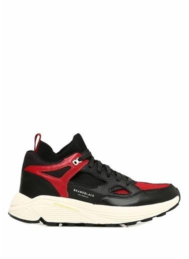 Black Sneakers Kırmızı